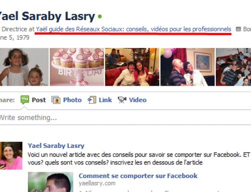 Comment optimiser votre profil Facebook pour obtenir plus de visites dans votre fan page