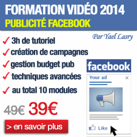 Formation facebook publicité payante - Facebook Ads