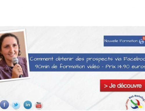 Obtenir des emails, téléphone de prospects sur Facebook via les formulaires Facebook
