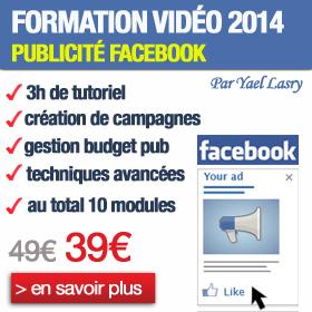 formation publicité facebook