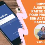 Comment ajouter une partie service pour promouvoir ses activités professionnelles sur Facebook